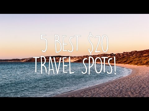 Travel for UNDER $20 a DAY! | Cheap travel 2017