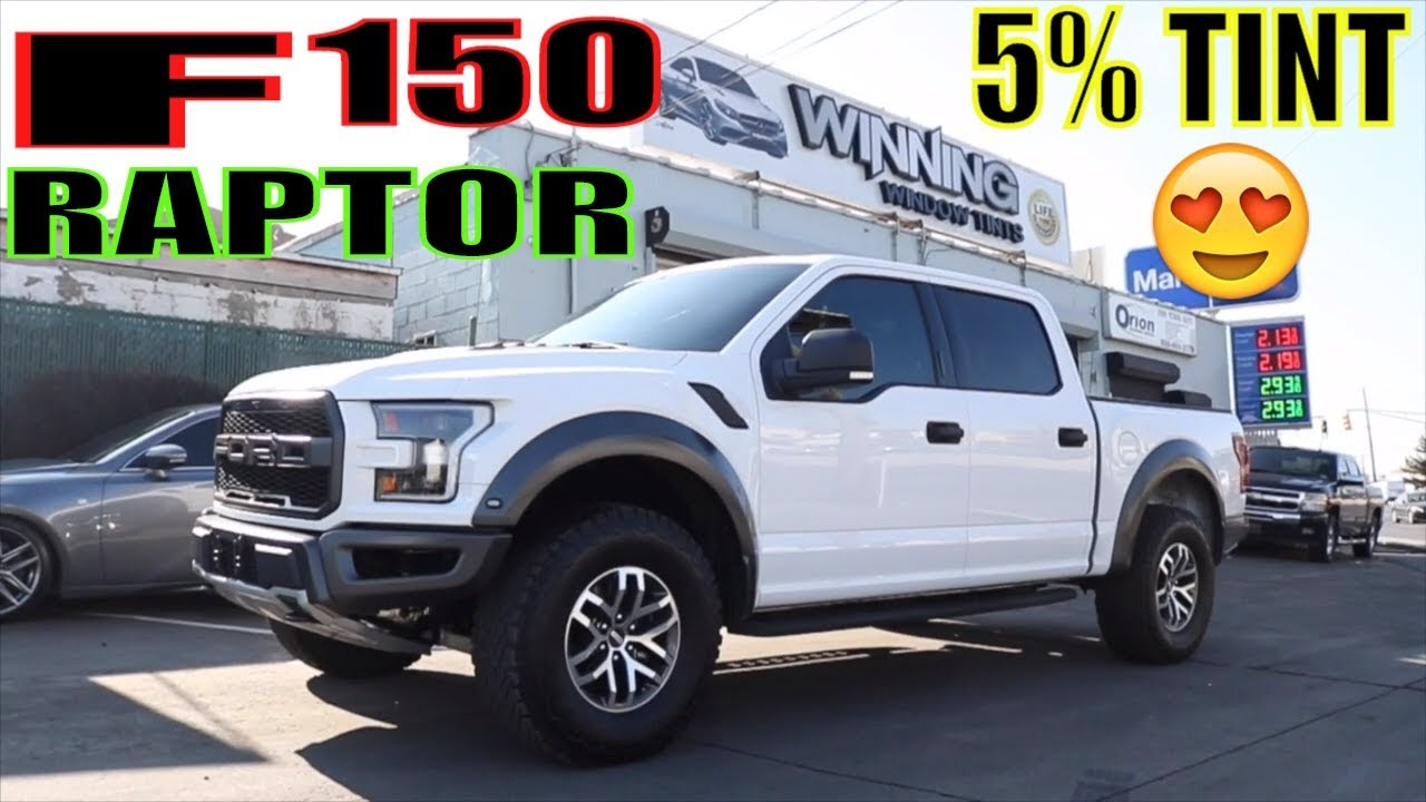 Tinting A Ford F150 Raptor In 20 35 Tinted Youtube