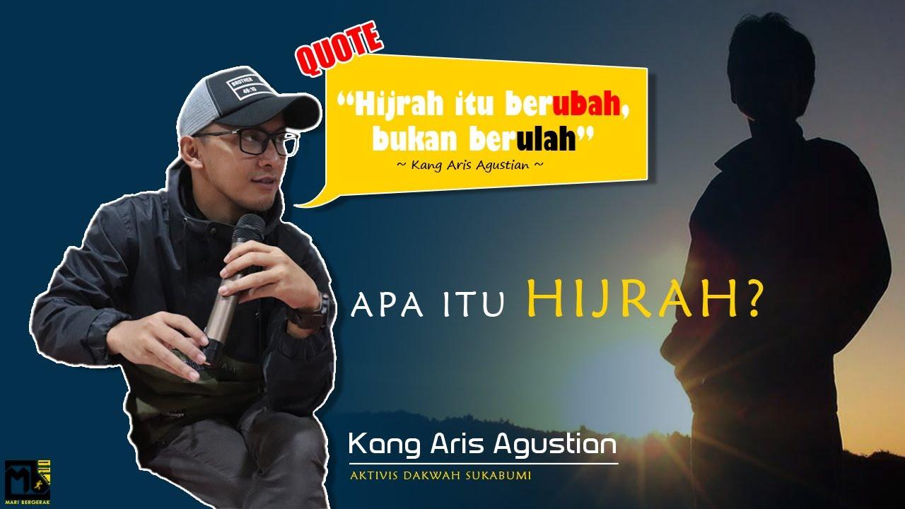 Apa Itu Hijrah..? | Hijrah itu BErubah bukab Berulah feat Aries Agustian - #MARINGOBROL EPS 1 ...