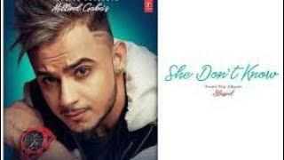 She Don't Know | Millind Gaba | Full Song | From Blessed | 2019