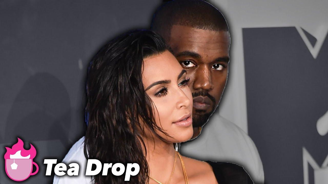 Kim Kardashian Explains Divorce To North West | Tea Drop