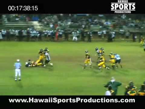 Kapolei x Leilehua, Football, at Leilehua, 9/12/08