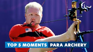 Para Archery Legends! | Top 5 moments from Archery...