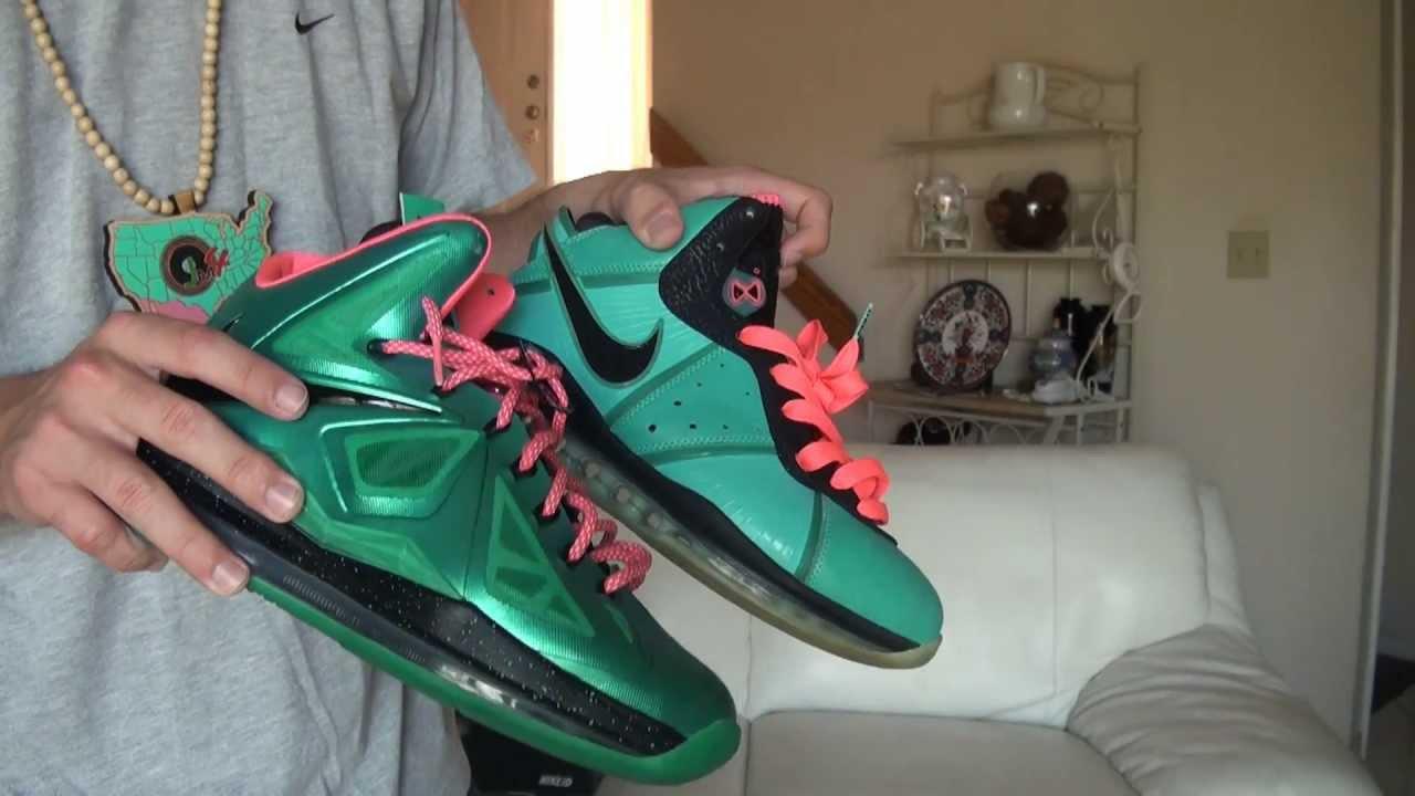 Nike LeBron 10 X South Beach