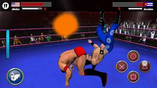 Wrestling Android IOS Gameplay|| Wrestling stars android games old wwe wrestlers names