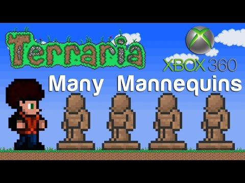 Terraria Xbox - Many Mannequins [89]