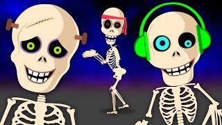 Pueblo Teehee Cinco Esqueletos Salieron Una Noche Canciones Infantiles Cute766