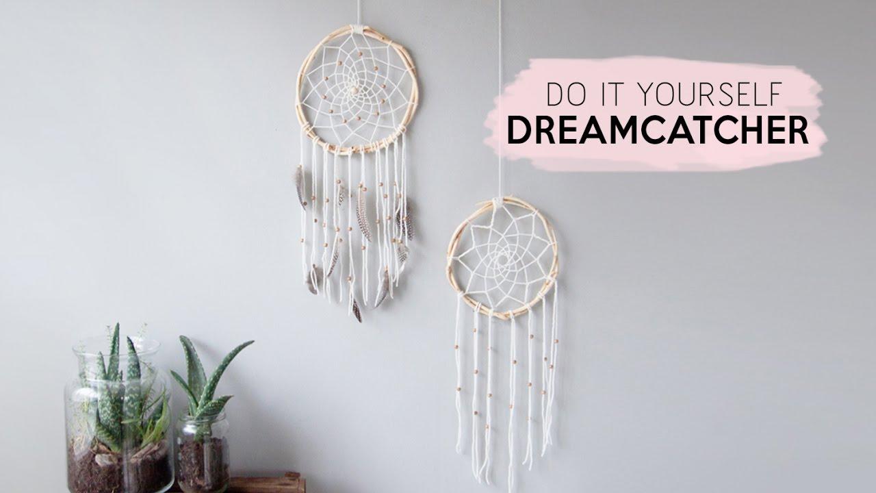 Dreamcatcher Diy Je Eigen Dromenvanger Maken Youtube