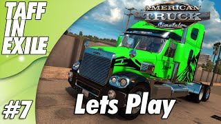 American Truck Simulator | No Speeding ticket Delivery!