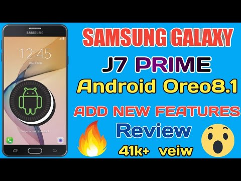 SAMSUNG Galaxy j7 prime Android Oero8 1 Add new features