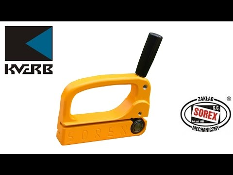 Роликовый нож для резки металла Sorex NKS 2