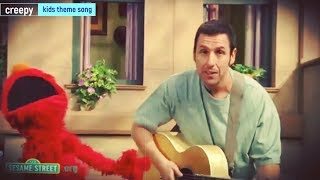 A Song About Elmo with Adam Sandler Reverse Version | Chuggington TV