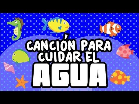 Canción para cuidar el agua | Canciones infantiles | spanish kids songs