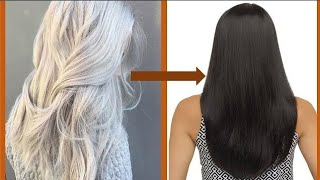 Apply 1 time, Turn White Hair to Black Permanently (100% WORKING) ll NGWORLD