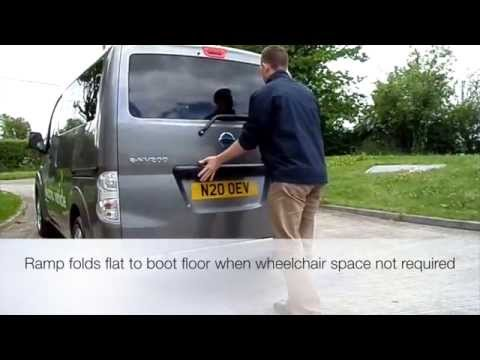 Go Green With Envy - The UK's First Fully Electric Wheelchair Accessible Vehicle (WAV)