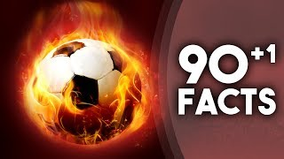 90+1 INSANE Facts About Football!
