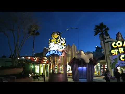 A Nighttime Visit To A Nearly Empty Universal Studios Orlando!