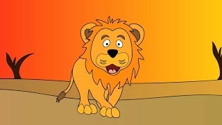 Meet the Lion - Animals at the Zoo - Animal Sounds - Learn the Sounds Zoo Animals Make