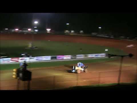 Jeff Bland Sprint Car A main winner at Bloomington Speedway 9 22 17