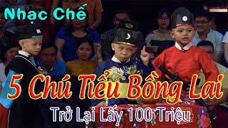 Bài Nhạc Chế Dành Cho 5 Chú Tiểu Bồng Lai Khiến Người Nghe Rơi Nước Mắt.