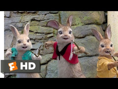 Peter Rabbit (2018) - Allergy Attack! Scene (7/10) | Movieclips