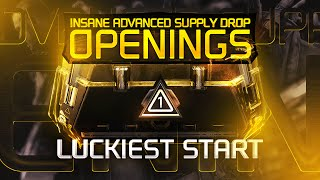 Insane Advanced Supply Drop Openings - Luckiest Start! (P1)