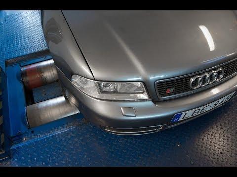 Totalcar Erőmérő: Audi A4 Avant 1.9 TDI