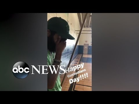 Donnie McClurkin - WATCH! Beloved school custodian gets surprise that moves him to tears