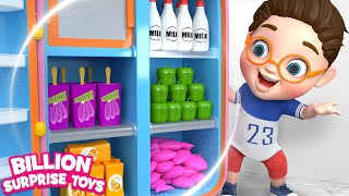 Learn with Toy Refrigerator | BST Kids