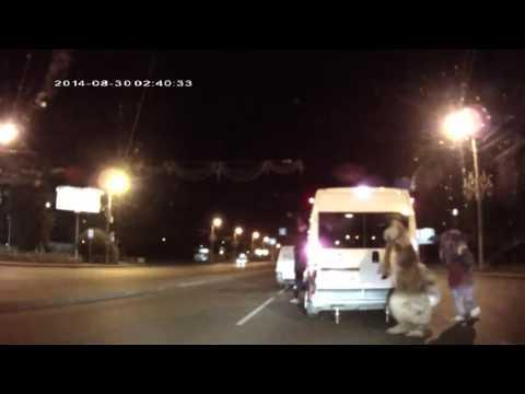 Maskotki atatkują - the street in russia
