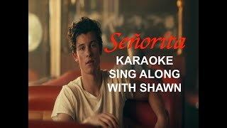 Señorita [ Karaoke Duet with Shawn Mendes ]