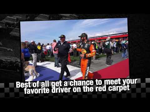 Pre-Race Pit Pass Access - NASCAR Auto Club 400