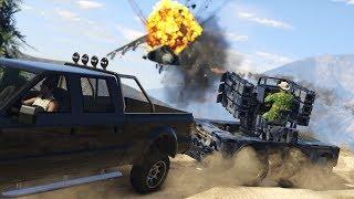 Grand Theft Auto V Трейлер ПВО