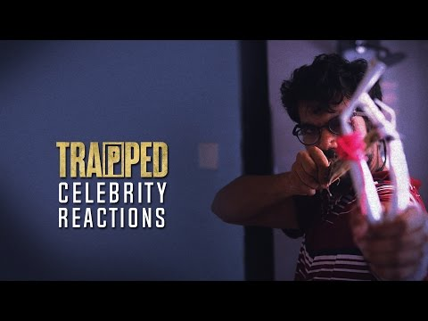 Trapped Celebrity Reactions