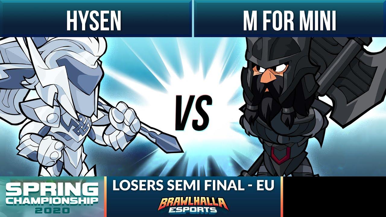 Hysen vs M for Mini - Losers Semi Final - Spring Championship 2020 - EU 1v1