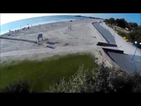 Boulevard Beach Resort Makkum vanuit de lucht!