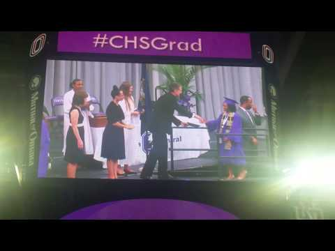 Omaha Central High Graduation Crossing The Stage