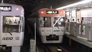 京王井の頭線 1000系1726F編成・1731F編成 吉祥寺駅発車