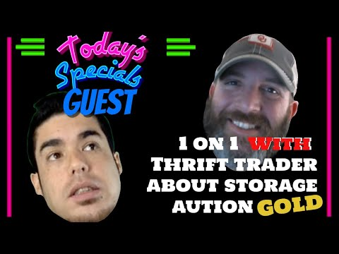 1 on 1 with With Thrift Trader on the Storage unit of the CENTURY & diversification