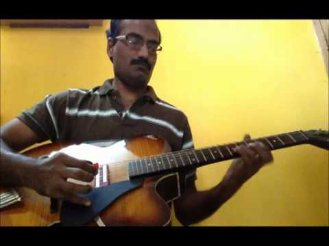 Tik Tik Vajate Dokyat Guitar instrumental by Sreekumar Nair / Marathi Film : Duniyadari