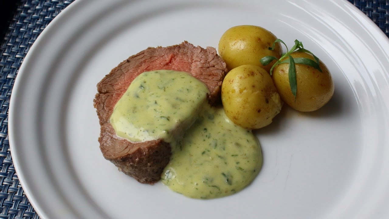 Attractive Béarnaise Sauce Recipe   How To Make The Best Béarnaise   YouTube
