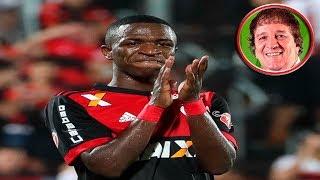 Flamengo 2 x 0 Atlético-GO - Narração: Luiz Penido, Rádio Globo RJ 19/08/2017