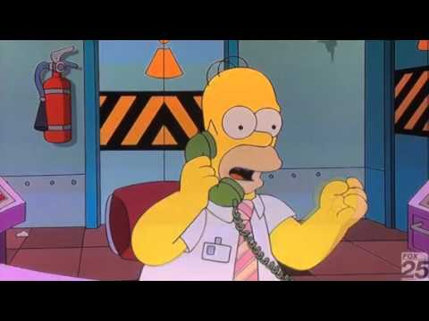 Jason Voorhees on The Simpsons