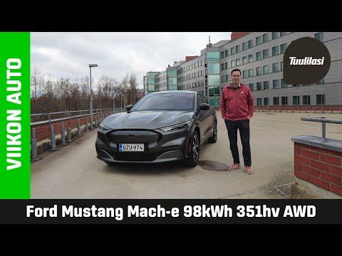 Viikon auto: Ford Mustang Mach-E - Ajajan sähköauto