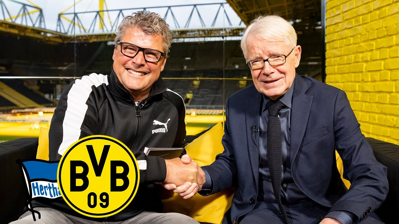 """Dedé fege ich vom Platz!"" | Feiertagsmagazin mit Dr. Rauball | Hertha BSC - BVB"