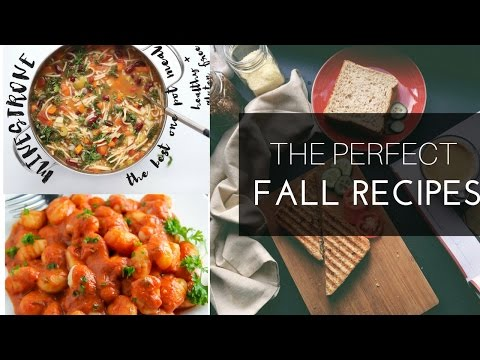 Fall Recipes: What I Eat | Plantbased