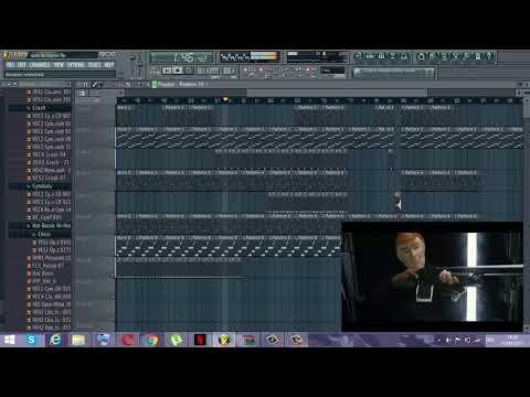 Naza - Gater le Coin instrumental /dj samori_ fl studio