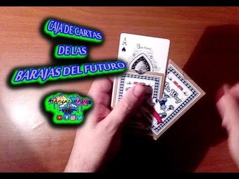 caja cartas de las barajas del futuro(como hacer la caja de la Baraja Origin Touch de forma casera)