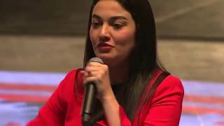 Muniba Mazari Inspirational speech