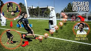 Treinamos no CT do Real Madrid!